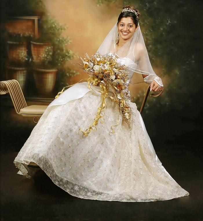 Christian Wedding Gown: Wedding Gowns From Concetta Bridals, Mangalore